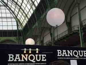 The Banque (Bank) where you purchase your credits 1 euro = 1 credit. Items cost between 5 and 15 credits - pick up the guide or visit the website for ideasTaste of Paris Grand Palais