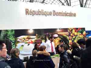 Several tastings at the Dominican Republic stand Taste of Paris 2016 Grand Palais