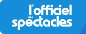 Logo for l'Officiel des spectacles, Paris, France, weekly, small format entertainment magazine