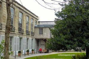 Interior side garden of Hôtel de Soubise, Archives nationales, Paris