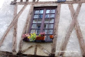 Buildings from the Middle Ages still exist in the world that Victor Hugo was passionate about - rue Volta