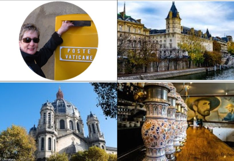 Christie Semmens, Seine River, Saint Augustin, Van Gogh and beer taps