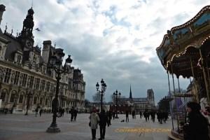 Plaza of Hôtel de Ville