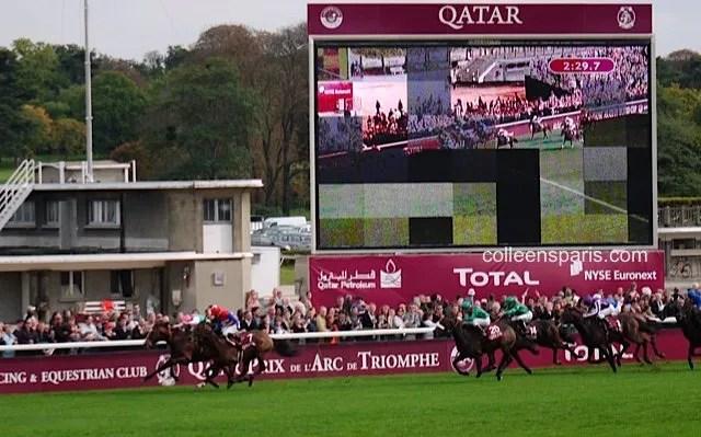 Race Longchamp horse race Qatar Prix Arc de Triomphe