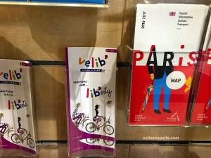 Maps and Velib' information at Paris Rendez-vous