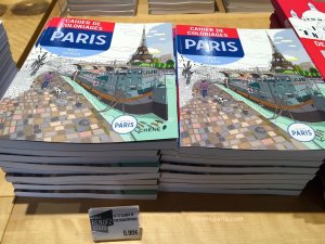 Coloring books, activity books for kids and adults at Paris Rendez-vous