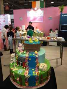 One of many pastry classes at Salon du Chocolat Junior 2016