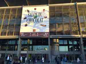 Affiche/Poster of Salon du Chocolat at Porte de Versailles, Paris