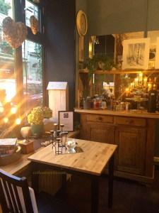 Café at Swedish store, Affären, Paris