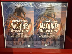 Arts et Metiers museum, Paris, Schuiten and Peeters, exhibition, machines