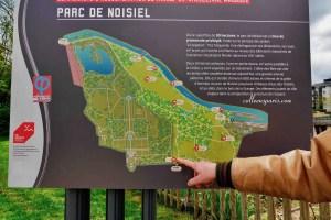 image of map for Parc de Noisiel, Champs-sur-Marne