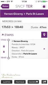 SNCF train return times