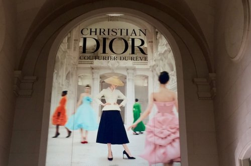 Image in Musée Arts décoratifs entry for Christian Dior Couturier du rêve until January 7, 2018