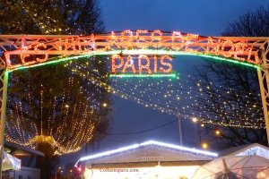 Entry to Champs Elysees Christmas Market