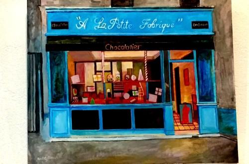 painting of à la Petite Fabrique