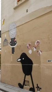 Street Art in Paris rue des Vertus
