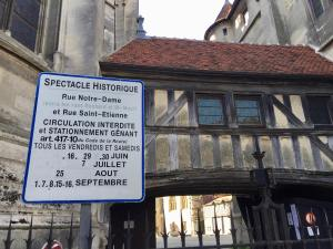 Spectacle Historiques historical shows every summer, Meaux