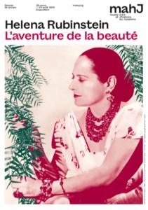 Helena Rubinstein poster for musee d'art et d'histoire du judaisme