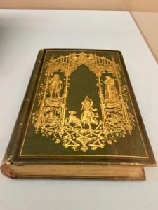 One of two volumes, Notre-Dame de Paris, Victor Hugo, Maison de Victor Hugo