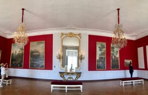 Room of Chinese Paintings in the Chinese Chamber of Marie Leszczynska, Queen of France