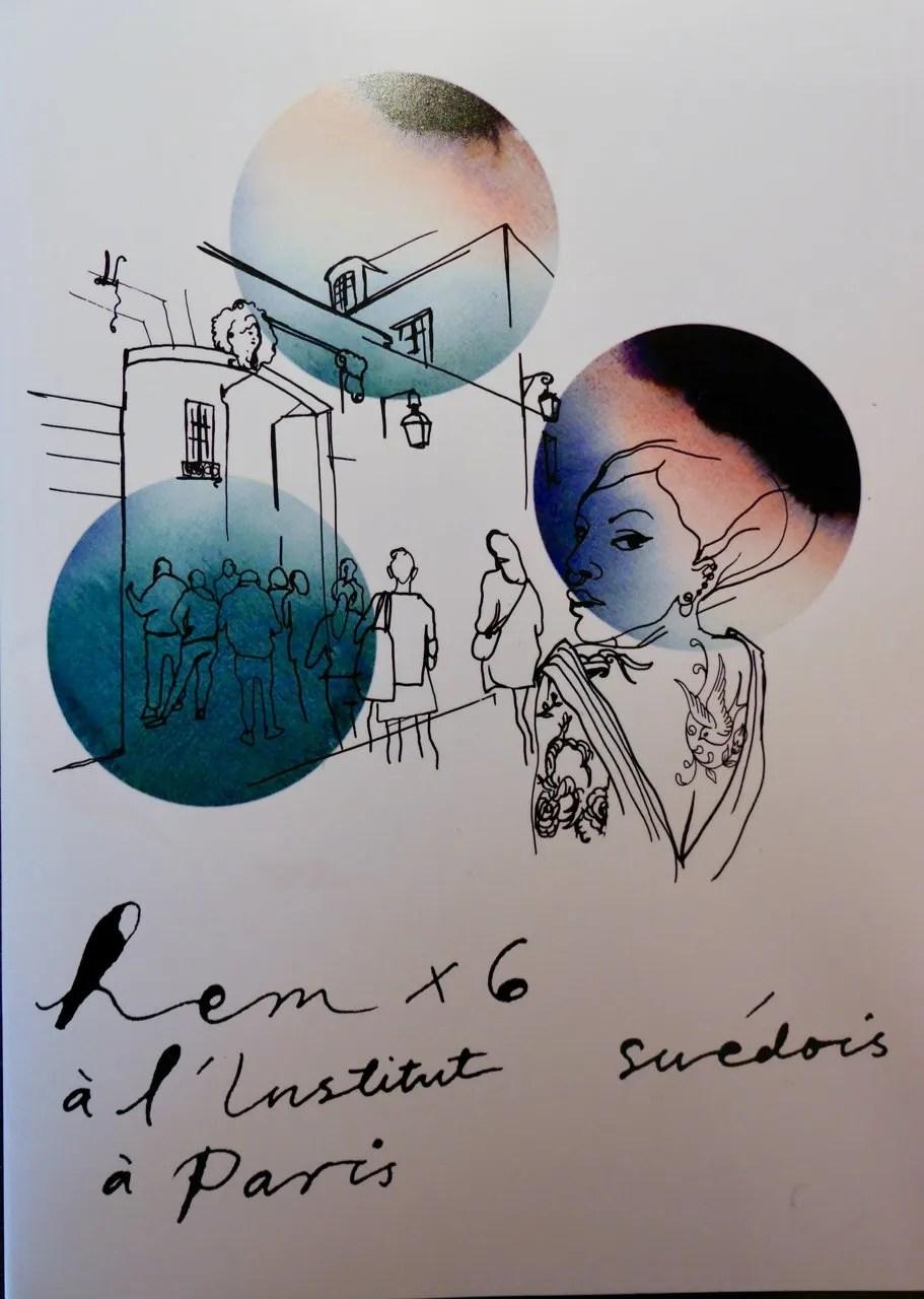 Cover of Hem fois 6 Swedish Design Moves Paris l'Institute Suédois in Paris