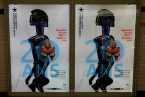 Metro Poster of 20 years Les Acquisitions du Musée du Quai Branly