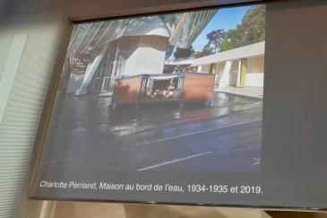 Projected image of Maison au bord de l'eau, Charlotte Perriand