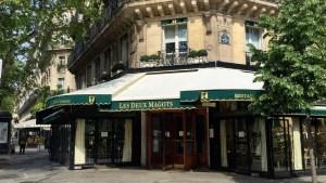 Image of brasserie Les Deux Magots in Paris