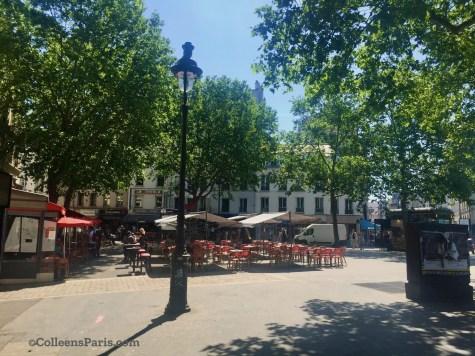 image of extended terrace along Place de la Bastille