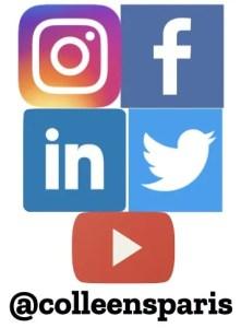 Social media Instagram Facebook LinkedIn Twitter YouTube