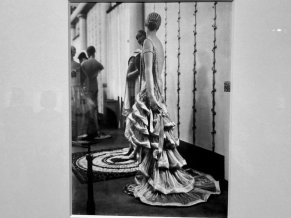 Image of Jeanne Lanvin's Apollon, Silk evening dress in two parts: