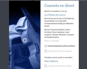 image for Louvre Live Concerts