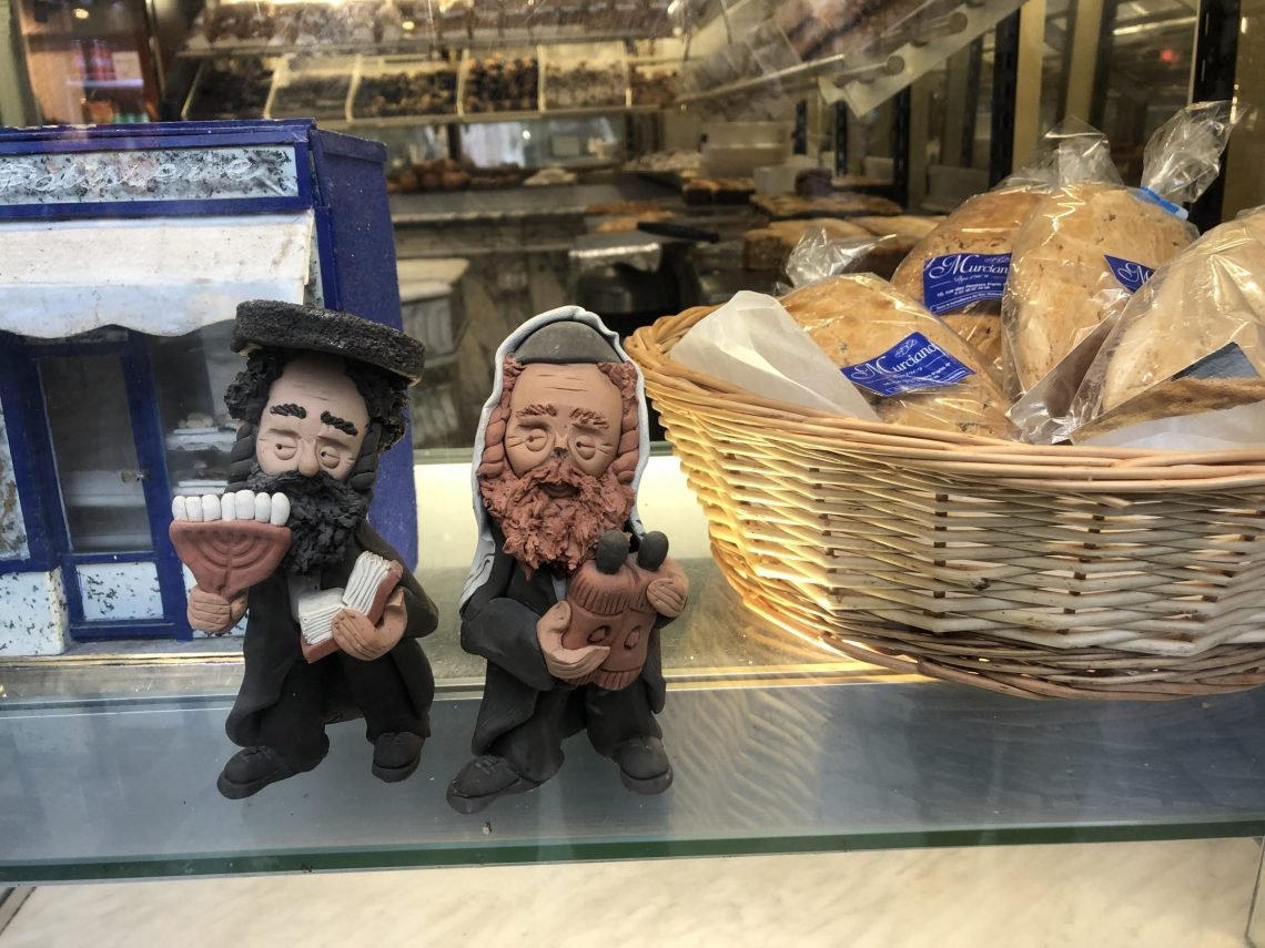 image of Jewish rabbi cookies Thierry Heil guided walks