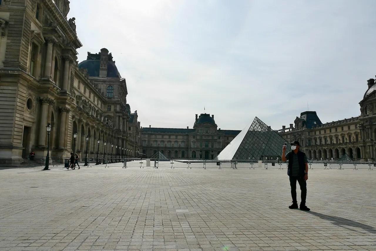 Springtime Silence in Paris for 55 Days