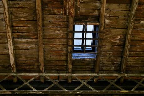 Interior roof of Topographie de l'art rue de Thorigny Paris