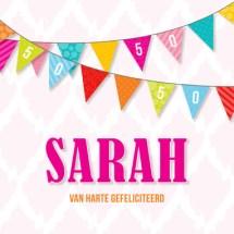 Collega 50 jaar Abraham en Sarah