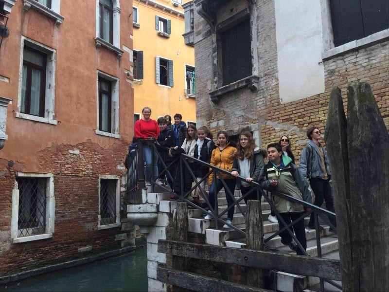 Voyage des 4ème et 3ème en Italie