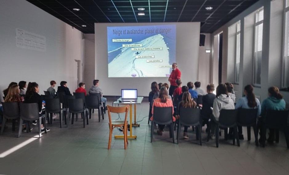 Initiation au DVA et risque d'avalanches