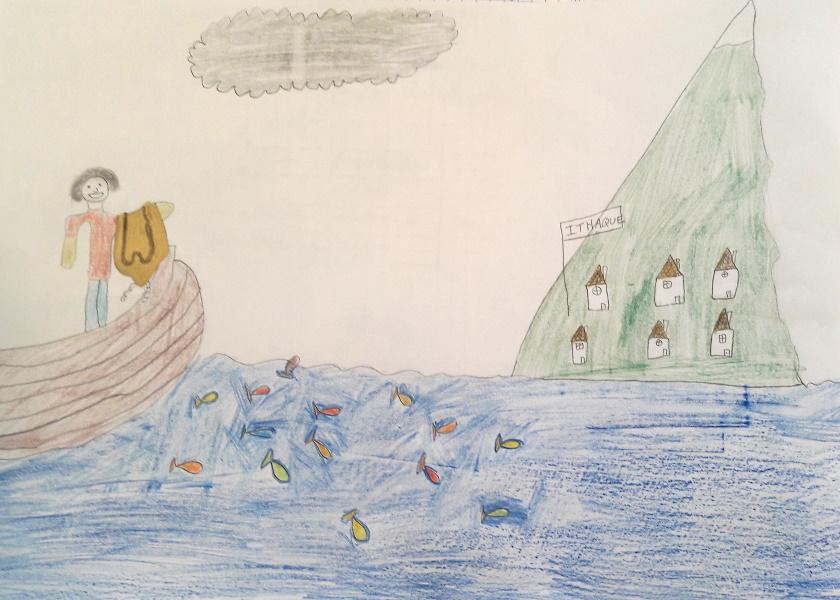Les 6ème étudient l'Odyssée