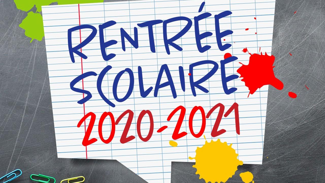 Modalités de rentrée 2020