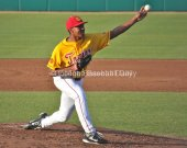 Stephen Tarpley didn't allow a hit until the fifth inning.