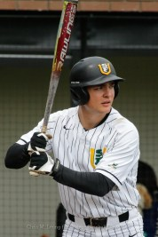 4/15/17: USF BASE vs Portland Pilots at Benedetti Diamond in San Francisco, CA. Portland wins 4-1. San Francisco Dons infielder Riley Helland (25) Image by Chris M. Leung for USF Dons Baseball