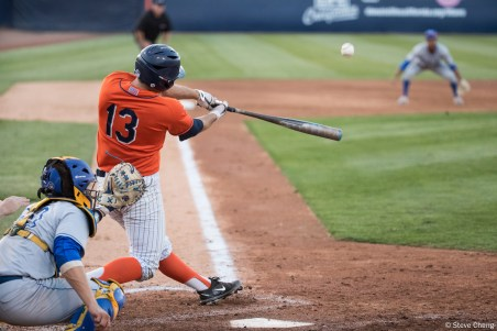 Timmy Richards. CSUF defeated UCSB 8-4, Fullerton, CA, May 12, 2017.