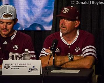 Texas A&M head coach Rob Childress