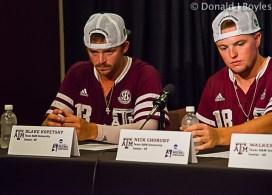 Texas A&M press conference