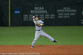 Corvallis, OR - JUNE 4: Dai Dai Otaka (4) of the Yale Bulldogs during an 8-1 Oregon State Beavers victory over the Yale Bulldogs in an NCAA Championship Regional Playoff game on June 4, 2017 at Goss Stadium on the campus of Oregon State University in Corvallis, OR (Photo by Ben Ludeman)