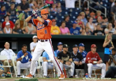 Clemson's Logan Davidson. The eighth annual College Home Run Derby was held Saturday, July 1, 2017 at TD Ameritrade Park in Omaha. (Photo by Michelle Bishop)
