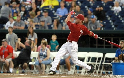 Alabama's Chandler Taylor. The eighth annual College Home Run Derby was held Saturday, July 1, 2017 at TD Ameritrade Park in Omaha. (Photo by Michelle Bishop)