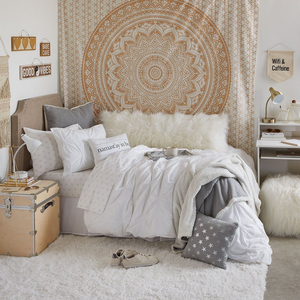College Dorm Room Decorations Guide for 2020 - College Fashion on Room Decorations  id=27383