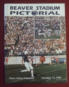 This was an exciting, close one as Penn State defeated Alabama at Beaver Stadium in 1985, 19-17. The Lions finished No. 3 and The Tide finished at No. 16.